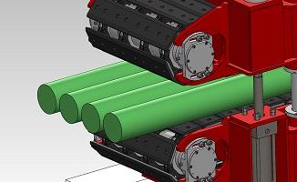 Rod extrusion line