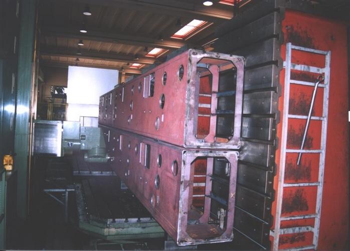 Strutture impianto di bobinatura multistazione