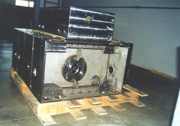 Particolari meccanici in acciaio inossidabile